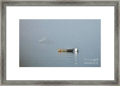 Waiting Dory Framed Print by Christopher Mace