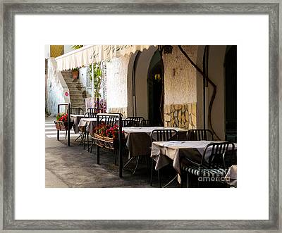Framed Print featuring the photograph Waiting For Company by Mike Ste Marie