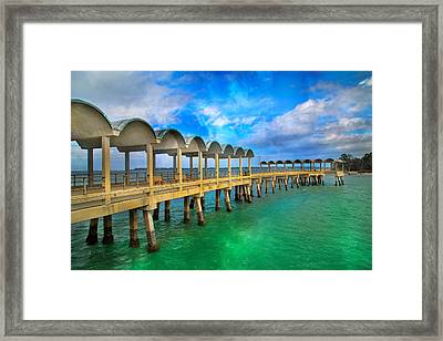 Waiting For Your Visit Jekyll Island Framed Print by Betsy Knapp