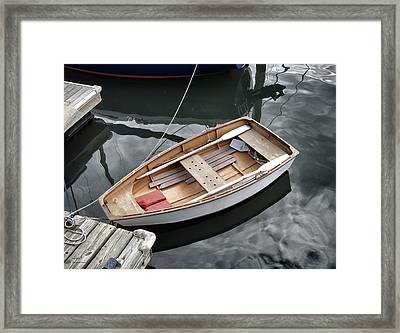 Waiting Framed Print by Patricia Januszkiewicz