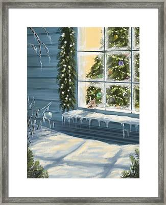 Waiting... Framed Print by Veronica Minozzi