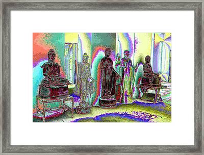Wat Thaton Framed Print by Serge Seymour