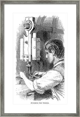 Watchmaker, 1869 Framed Print by Granger