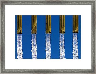 Water Framed Print by Fabrizio Troiani