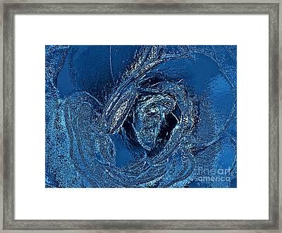 Water Rose Framed Print