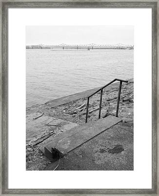 Waterfront Framed Print by Andrew Martin
