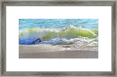 Green Wall Framed Print by Betsy Knapp