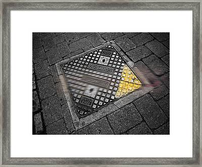 Way Framed Print by Charles Stuart