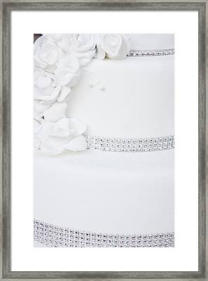Wedding Cake Framed Print by Tom Gowanlock