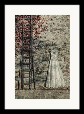 Coat Hanger Framed Prints