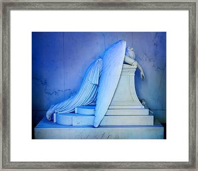 Weeping Angel IIi Framed Print by Chris Moore