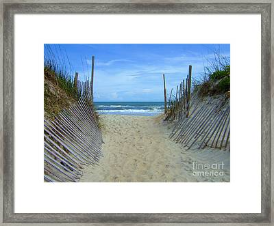 Well Traveled Framed Print by Bob Sample