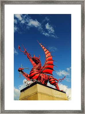 Welsh Dragon Framed Print