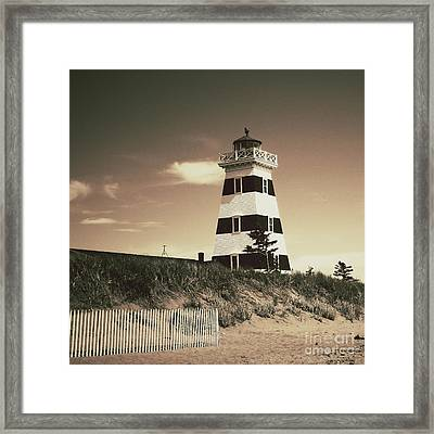 West Point's Light Framed Print by Meg Lee Photography