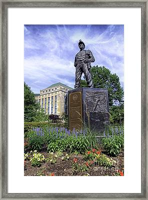 West Virginia Coal Miner Framed Print by Thomas R Fletcher