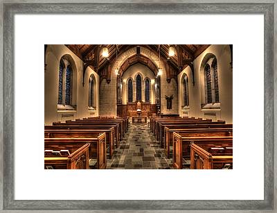 Westminster Presbyterian Church Framed Print by Amanda Stadther