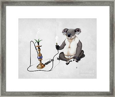 What A Drag Wordless Framed Print