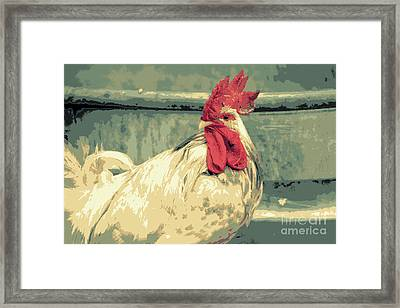 What Framed Print by Joe Jake Pratt