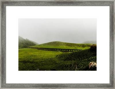 When The Romans Came Framed Print
