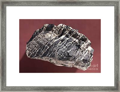 White Asbestos Framed Print