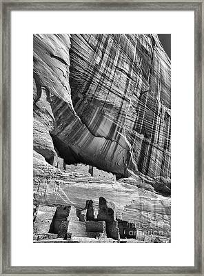 White House Ruin Framed Print by Thomas R Fletcher