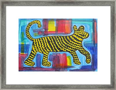Wild Cat Framed Print
