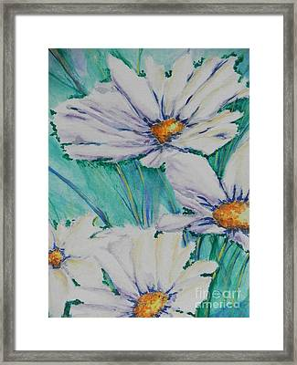 Wild Daisys Framed Print by Chrisann Ellis