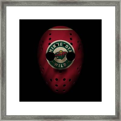 Wild Jersey Mask Framed Print