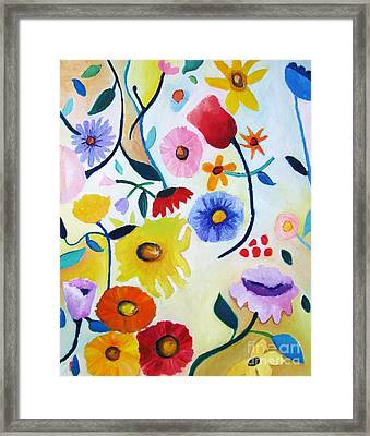 Wildflowers Framed Print by Venus