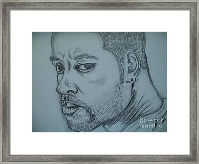 Will Smith Framed Print