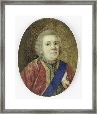 Willem Iv, 1711-51, Prince Of Orange-nassau Framed Print by Litz Collection