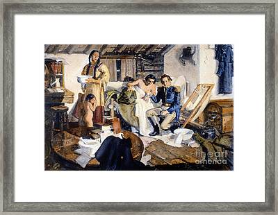 William Beaumont Framed Print