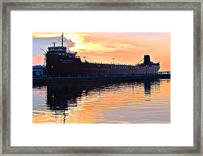 William G Mather Framed Print by Frozen in Time Fine Art Photography