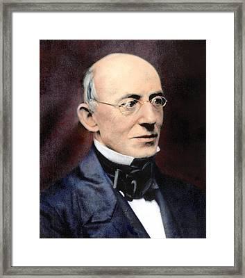 William Lloyd Garrison Framed Print by Granger