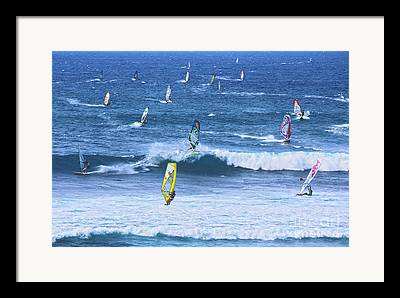 Windsurfer Framed Prints