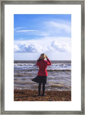 Windy Framed Print by Joana Kruse