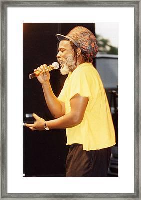 Winston Rodney Framed Print