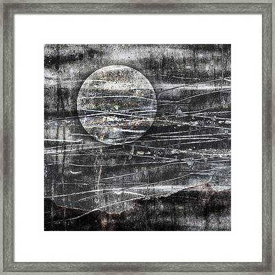 Winter Moon Framed Print by Carol Leigh