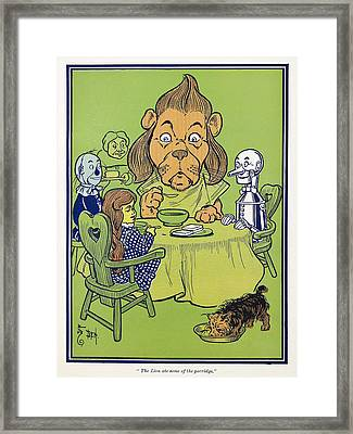 Wizard Of Oz, 1900 Framed Print