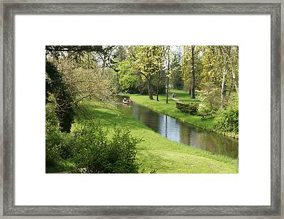 Woerlitzer Park Framed Print by Olaf Christian