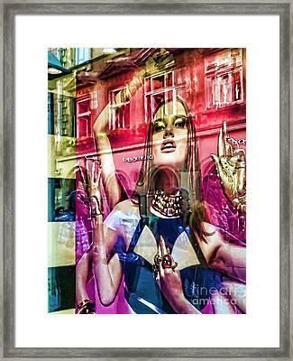 Women Framed Print by Justyna JBJart