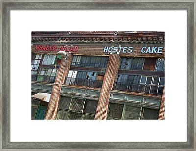 Wonder Bread Hostes Cake Framed Print