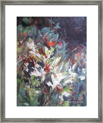 Woodland Bouquet Framed Print by Mary Lynne Powers