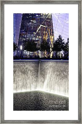 World Trade Center Museum Framed Print