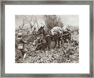 World War I Flanders Framed Print