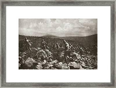 World War I Italian Front Framed Print