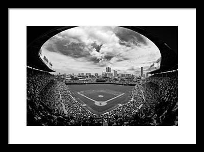 Chicago Cubs Framed Prints