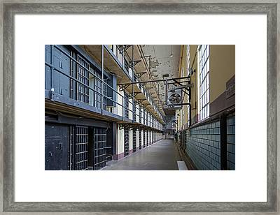 Wyoming Frontier Prison Framed Print by Jim West