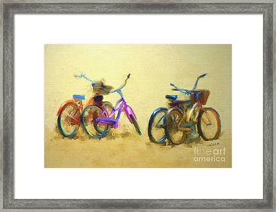 2 By 2 Framed Print