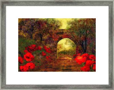 Ye Olde Railway Bridge Framed Print